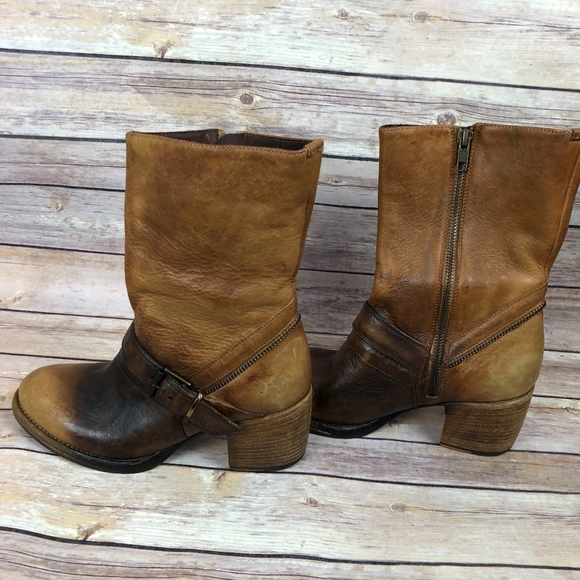 2ada90b316e Patricia Nash Shoes | Lombardy Buckle Mid Boots New | Poshmark